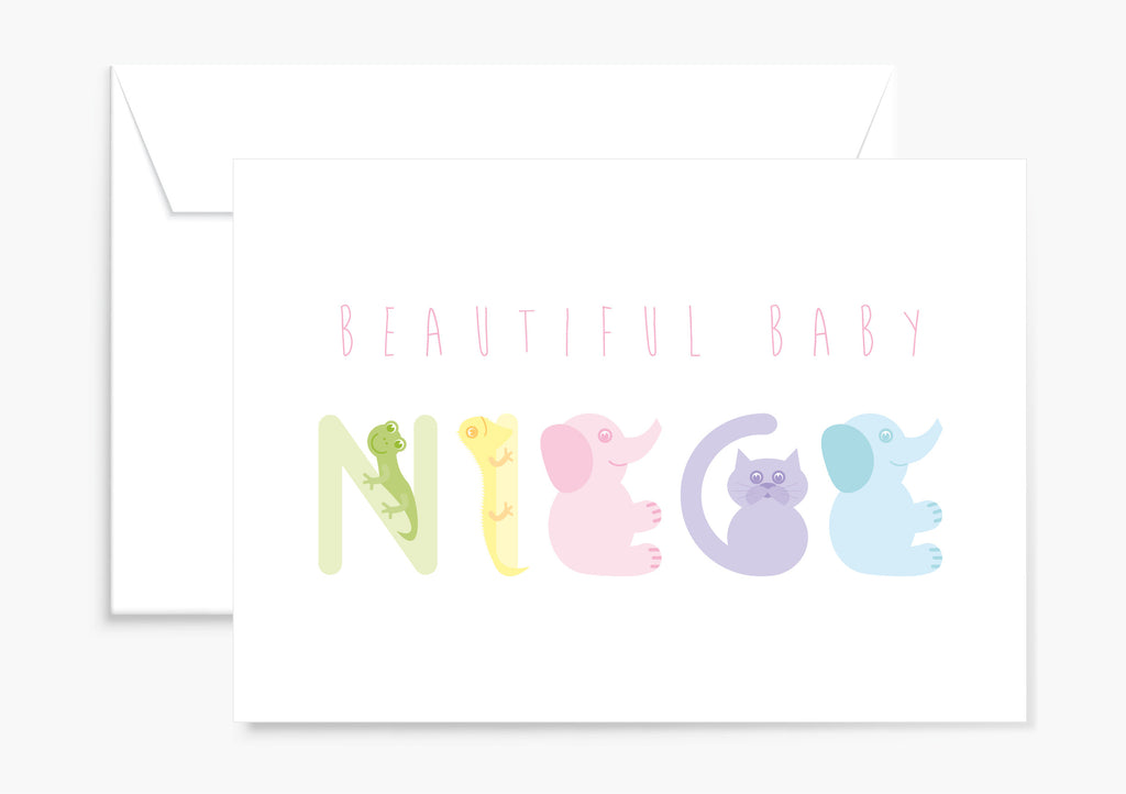Baby Niece card