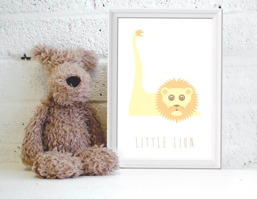 Alphanimals Little Lion print