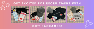 Gift Packages available for new sorority girls