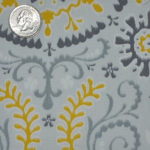 #104 Grey and Yellow Medallion