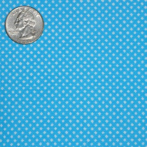 #185 Blue with Small White Dots
