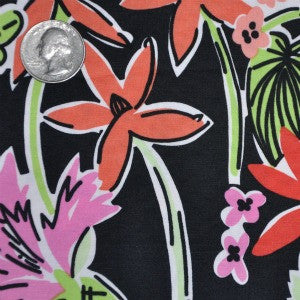 #215 Lilly Black Flower