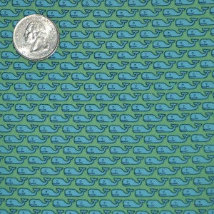 #234 Vineyard Vines Green Whales