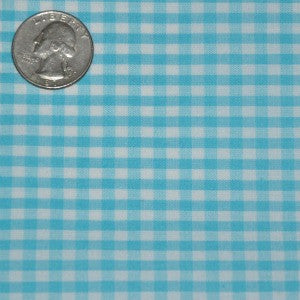 #52 Turquoise Gingham