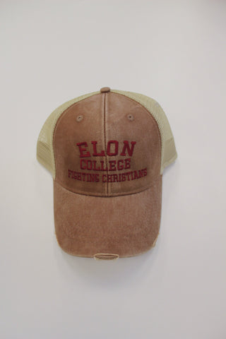 Elon College Fighting Christian Hat