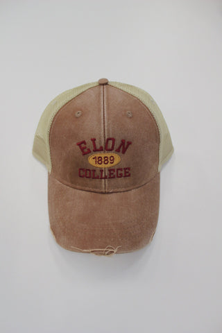 Elon College Hat with Established Date