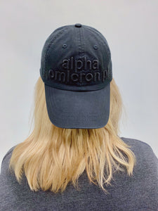 Black Monochrome Hat