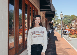 Elon College Fighting Christian Long Sleeved T-Shirt
