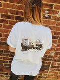 """Small Town, Big Heart"" Elon Pocket T-Shirt"