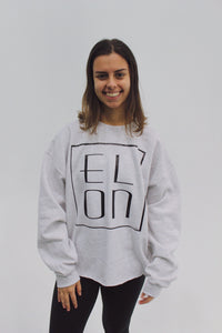 Elon Retro Raw Edged Sweatshirt