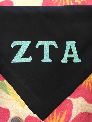 Sweatshirt Blanket with Greek Vinyl Letters