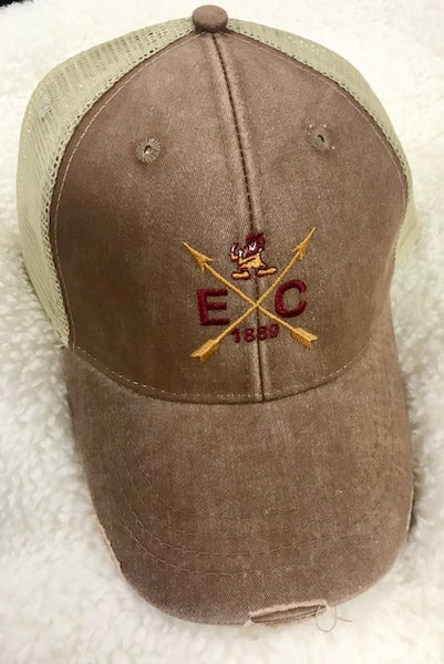 Elon College Crossed Arrow Hat