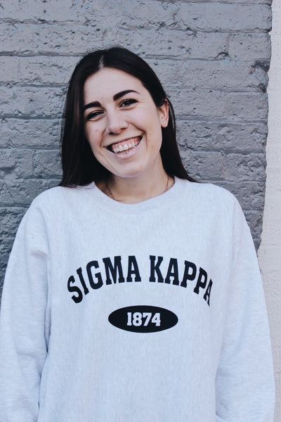 Old School Sorority Sweatshirt