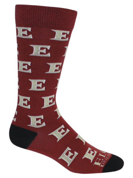 Men's Elon University Socks