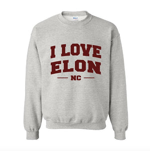I LOVE ELON Sweatshirt