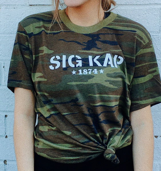 Sorority Camo T-Shirt