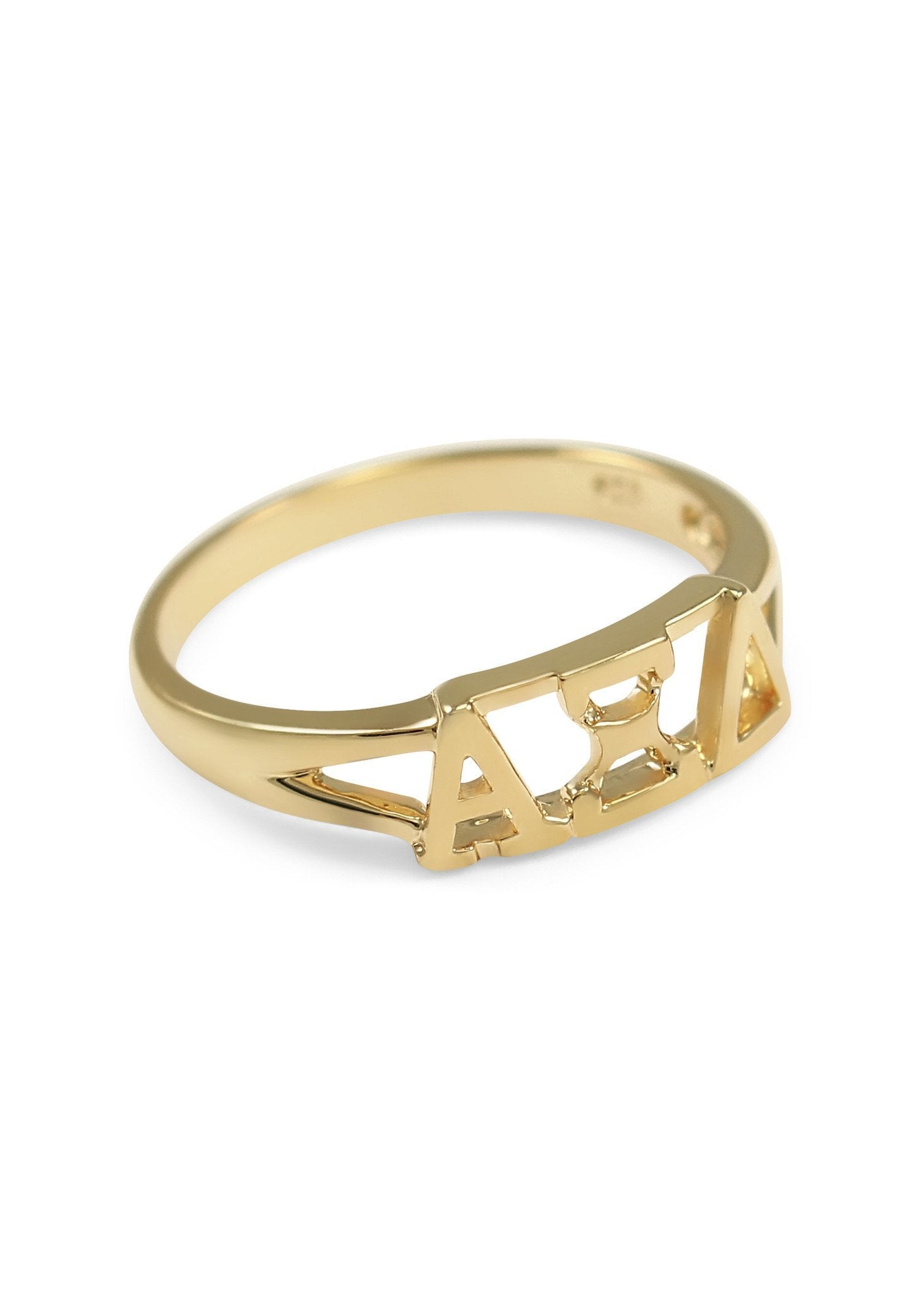 Sorority Sunshine Gold Ring