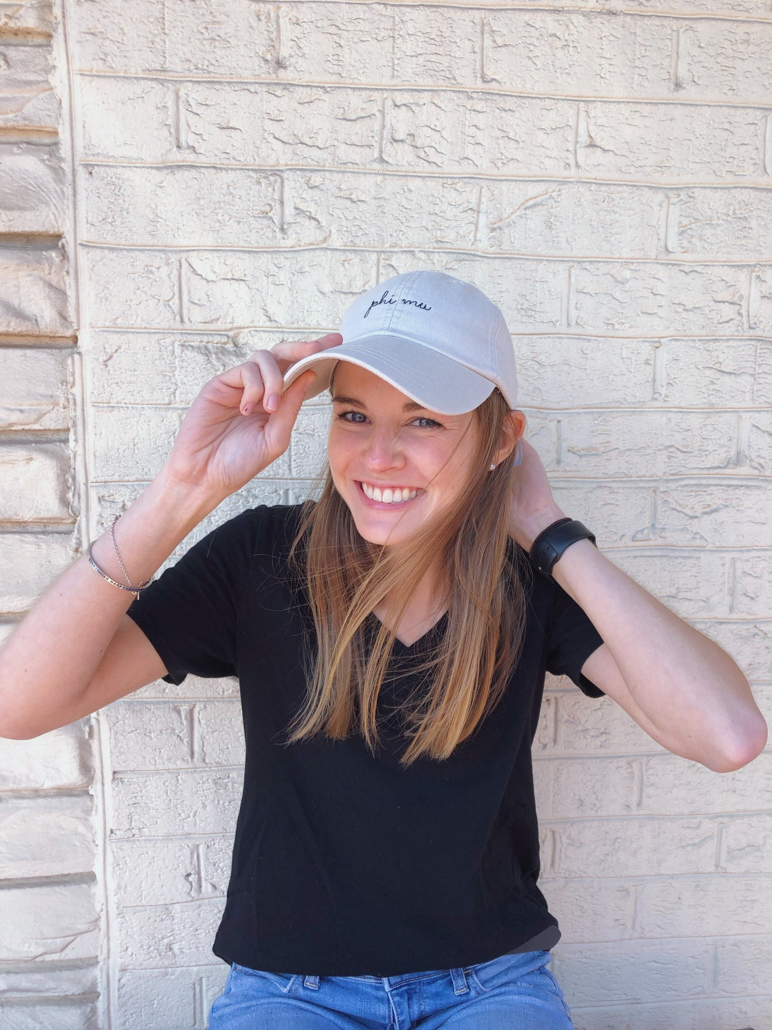 Sorority Script Hat