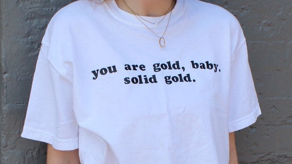 Solid Gold Graphic T-Shirt