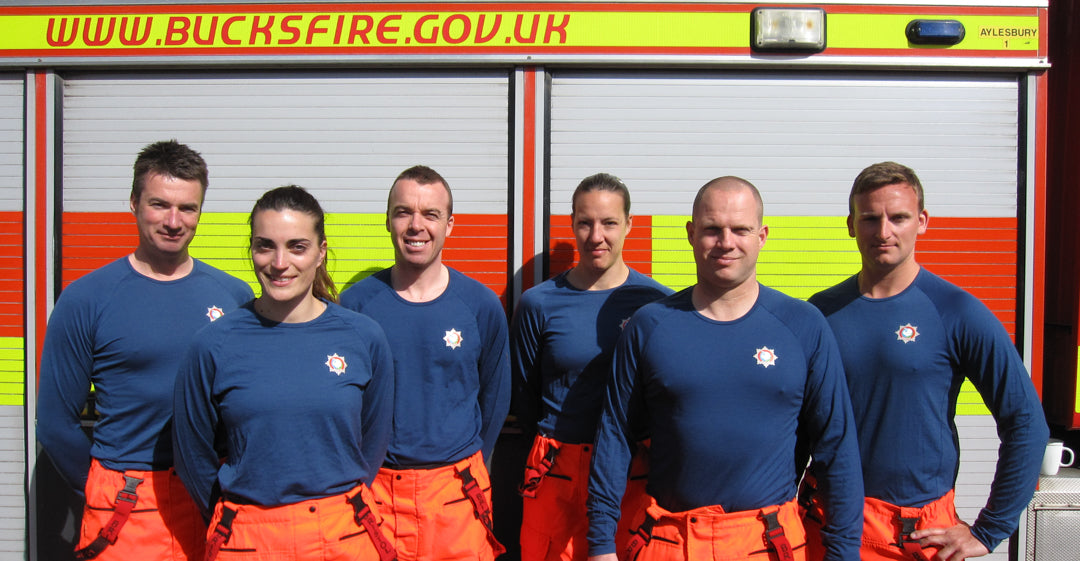 Bucks Fire service in their Armadillo Merino®