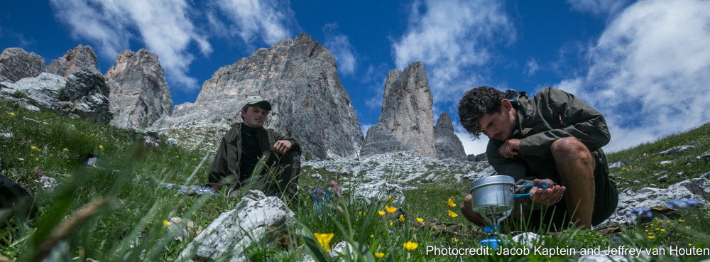 Jeffery and Jacob in the Dolomites