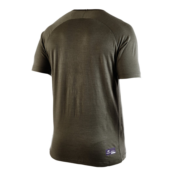 61bd456d COUGAR - Big Cat Short Sleeve Crew Neck | Armadillo Merino®