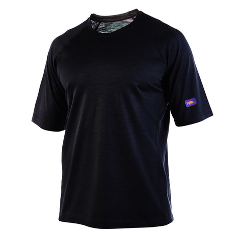 Black COBRA - Elite Short Sleeve Crew Neck