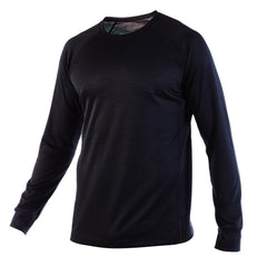 PYTHON - Elite Long Sleeve Crew Neck - Black - XXL