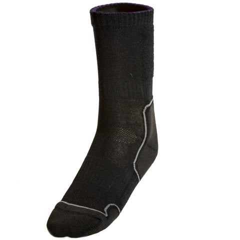 Black LIGHT HIKER Sock