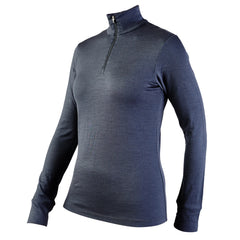 IONA - Women's Long Sleeve Zip Top - Graphite - XL