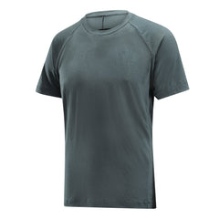 COUGAR - Mens Merino Wool Baselayer Big Cat Short Sleeve Crew Neck