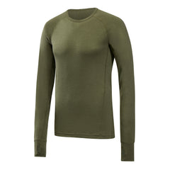 FALCON - Mens Merino Wool Baselayer Raptor Long Sleeve Crew Neck