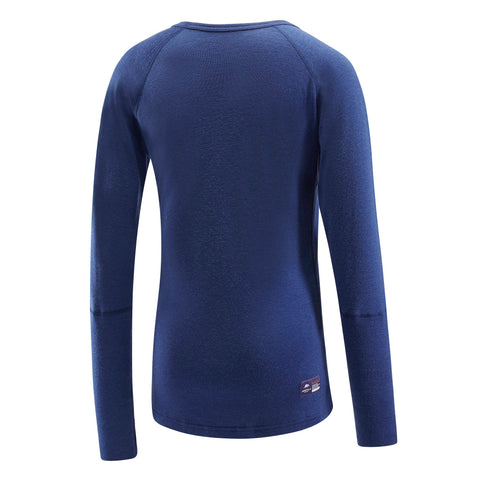 Lapis Blue ARTEMIS - Women's Long Sleeve Crew Neck