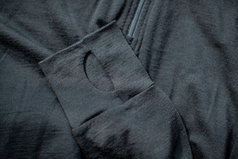 Black Lion - Lined Long Sleeve Hoody Top (Coming soon)