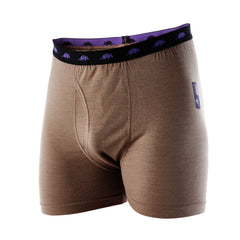 RAMMY - Mens Merino Wool Boxer - Coyote Brown XS