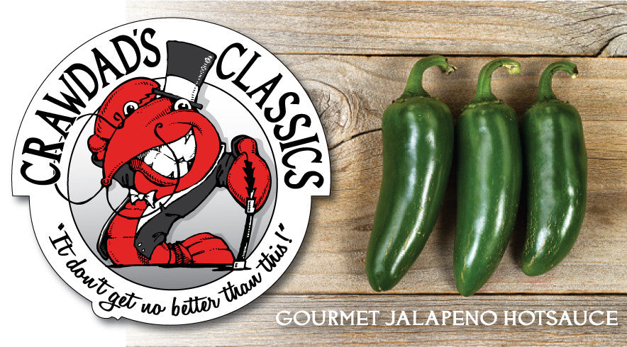 Try our Gourmet Jalapeño Hotsauce