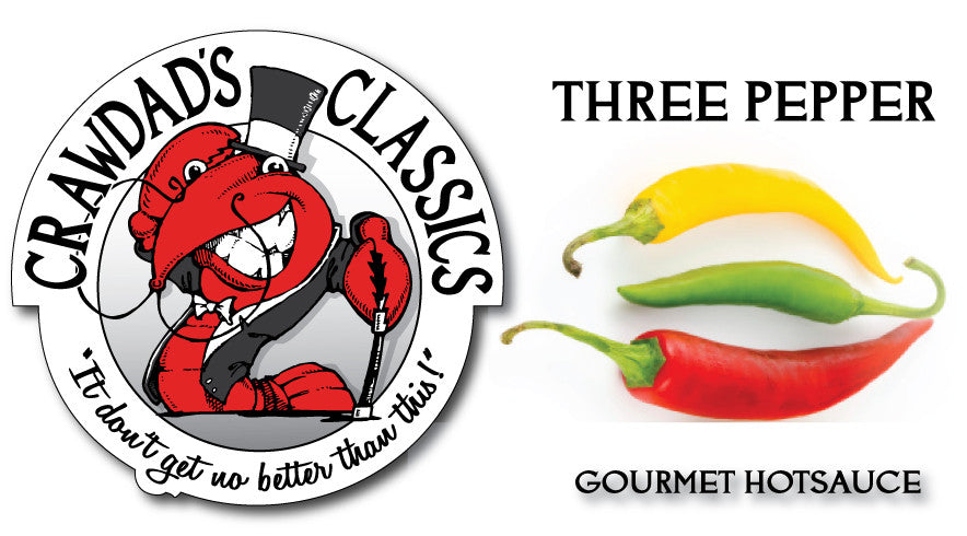 Try our Three Pepper Gourmet Hotsauce