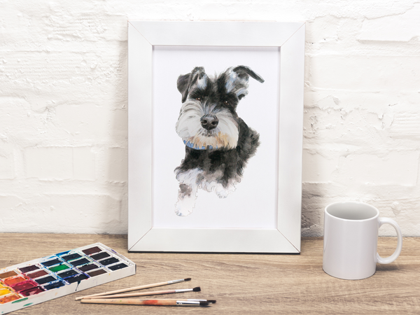 Custom Pet Portrait (Unframed)