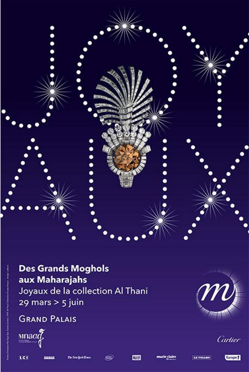 DES GRANDS MOGHOLS AUX MAHARAJAHS, Grand Palais, Paris, exposition, exhibitions, France, Bijoux, jewelry, 29 Mars 2017 - 05 Juin 2017