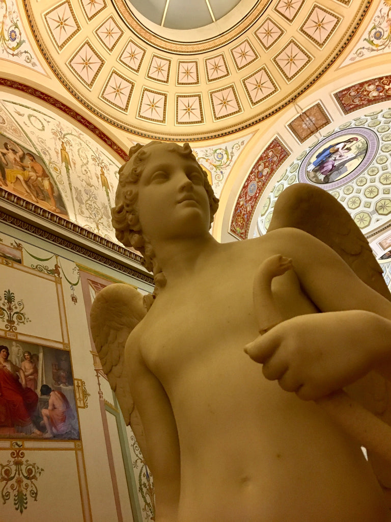 Hermitage museum, neo-classic, sculpture from the Hermitage museum, st Petersbourg, st petersburg, russie, russia