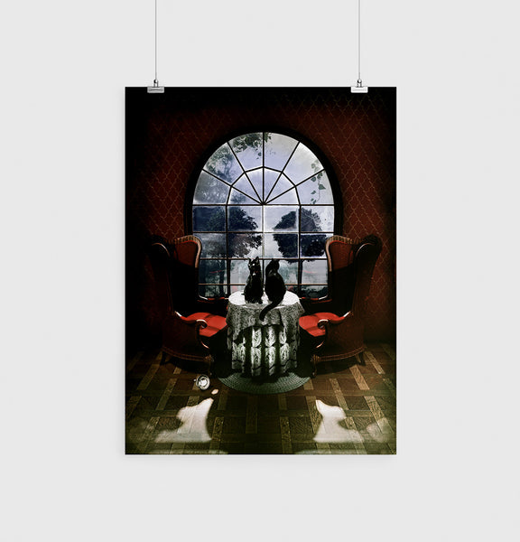Room Skull Poster, Sugar Skull Art Print,Original Skull Wall Art
