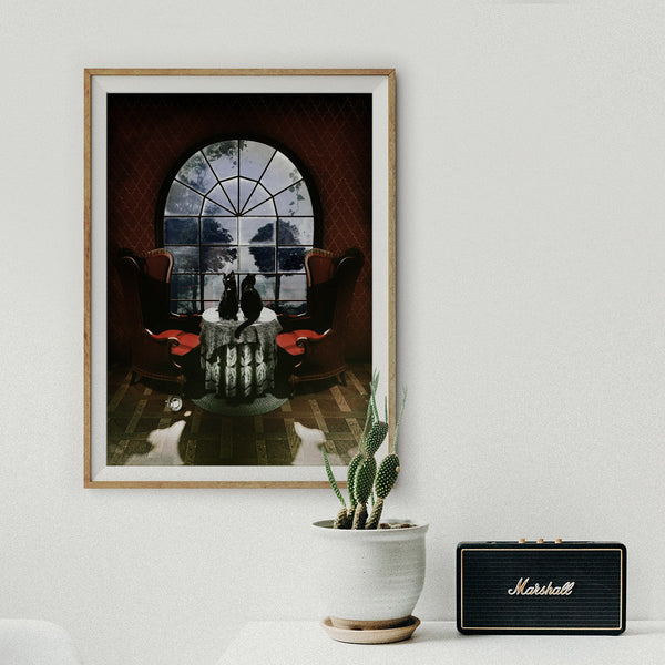 Room Skull Art Print, Gothic Skull Poster Home Decor, Sugar Skull Wall Art Gift