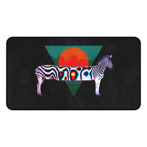 Zebra Desk Mat, Large Mouse Pad, Anti Slip Gaming Mouse Pad