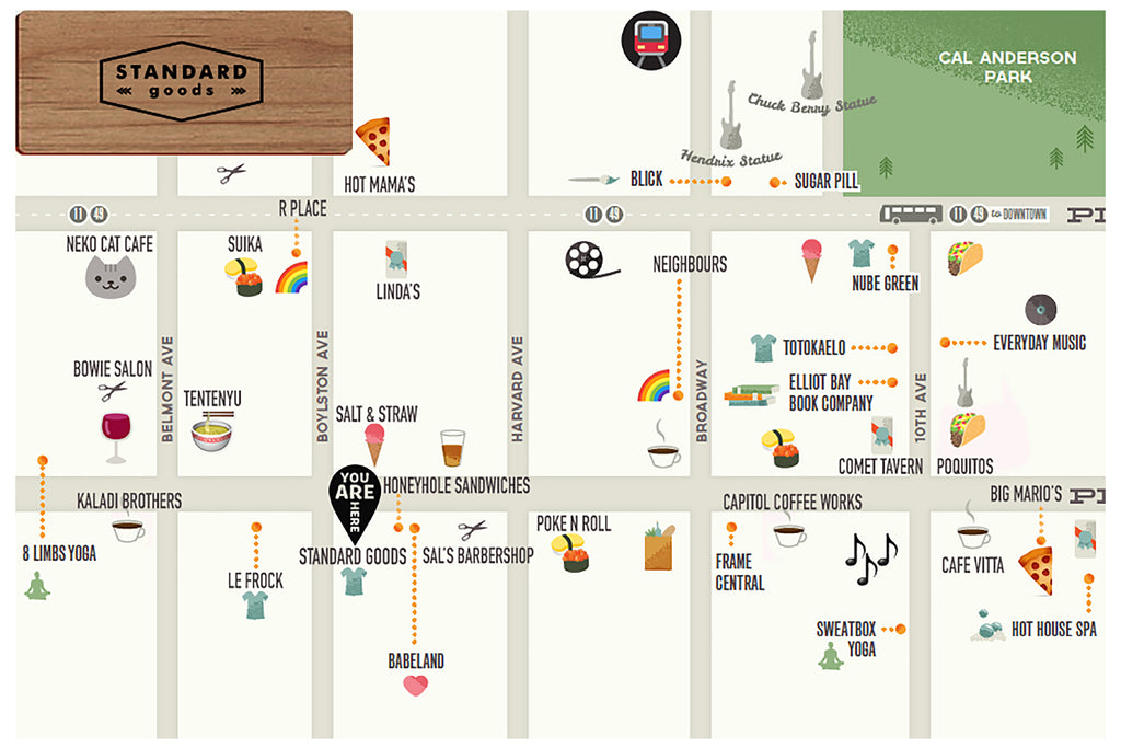 Locals' Guide 2018 Map