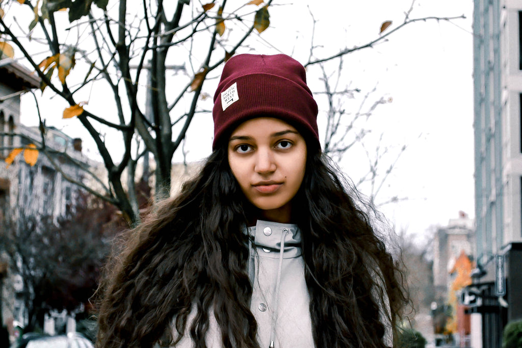 Stay Cozy Seattle Standard Goods Lookbook Photographer Kathreen Absuelo Model Leah Nemeth
