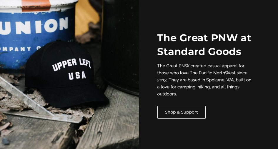 Shop The Great PNW at Standard Goods