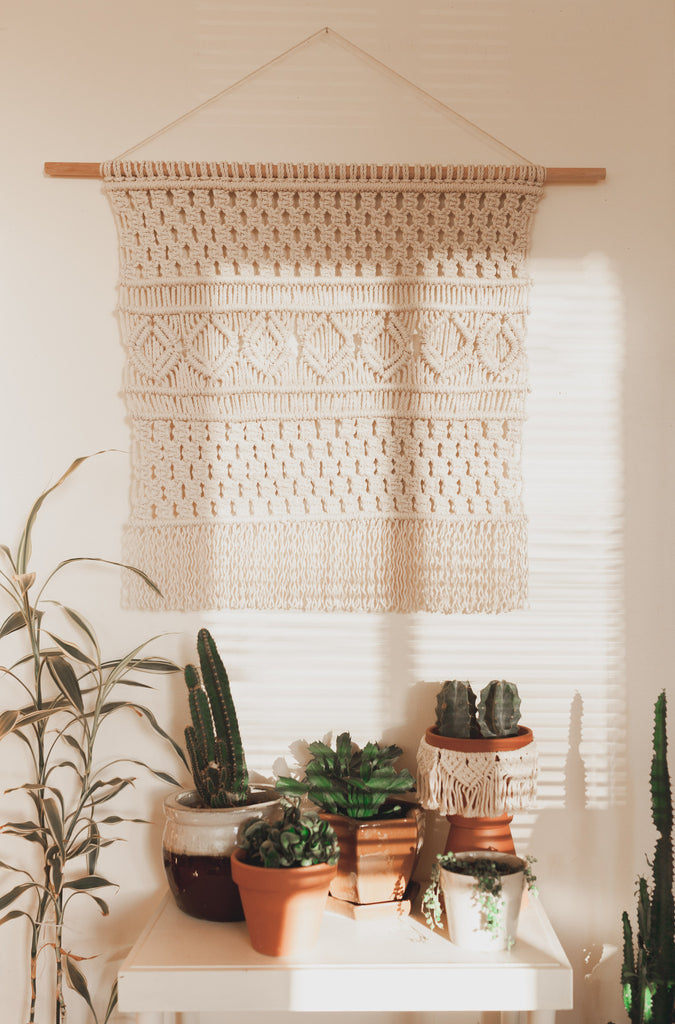 The Beige Motel, Seattle, Macrame artist, makers, Made in Seattle, Standard Goods Featured Artist: Ashley Campbell