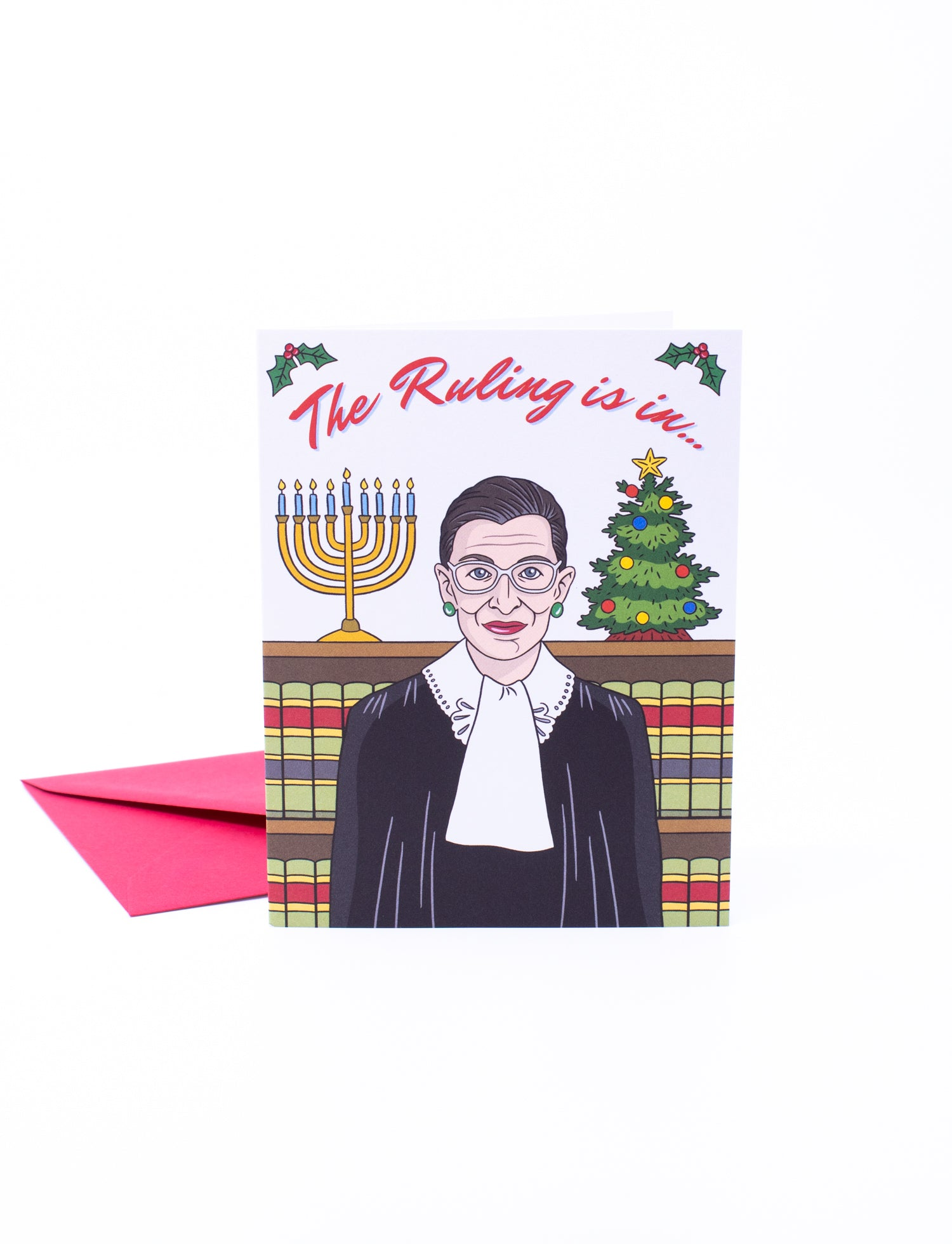 The Found Greeting Card RBG Holiday Card