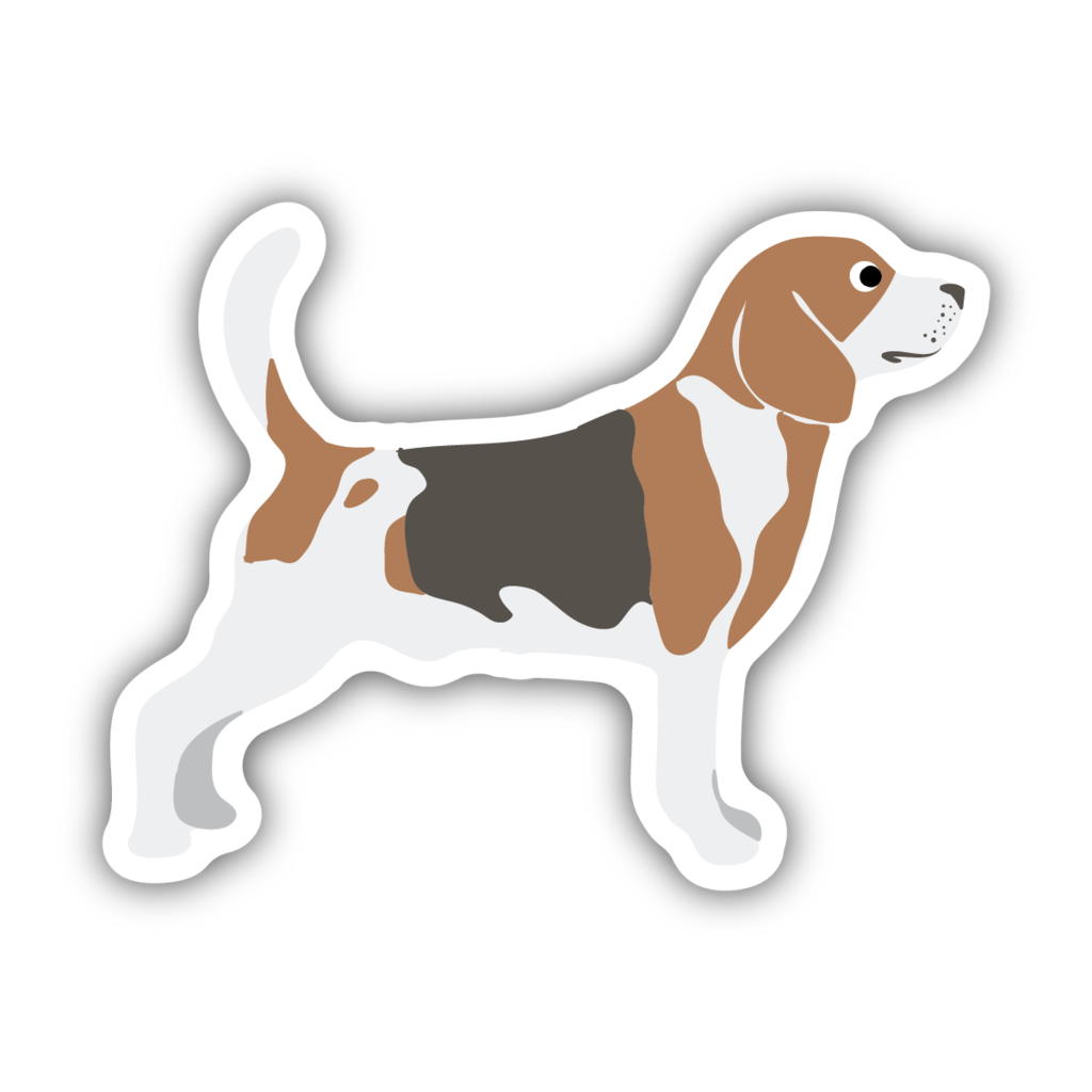 Stickers Northwest Beagle Large Printed Sticker