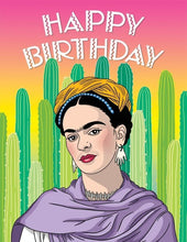 Load image into Gallery viewer, The Found Greeting Card Frida Cacti Happy Birthday